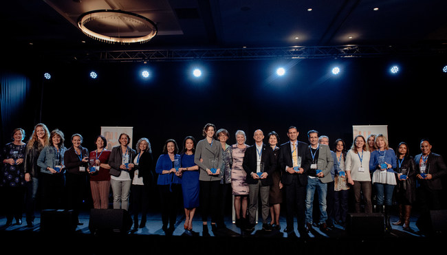 The International Coach Federation celebrated the achievements of 13 outstanding chapters from around the globe during a March 23, 2017, ceremony in Warsaw, Poland.