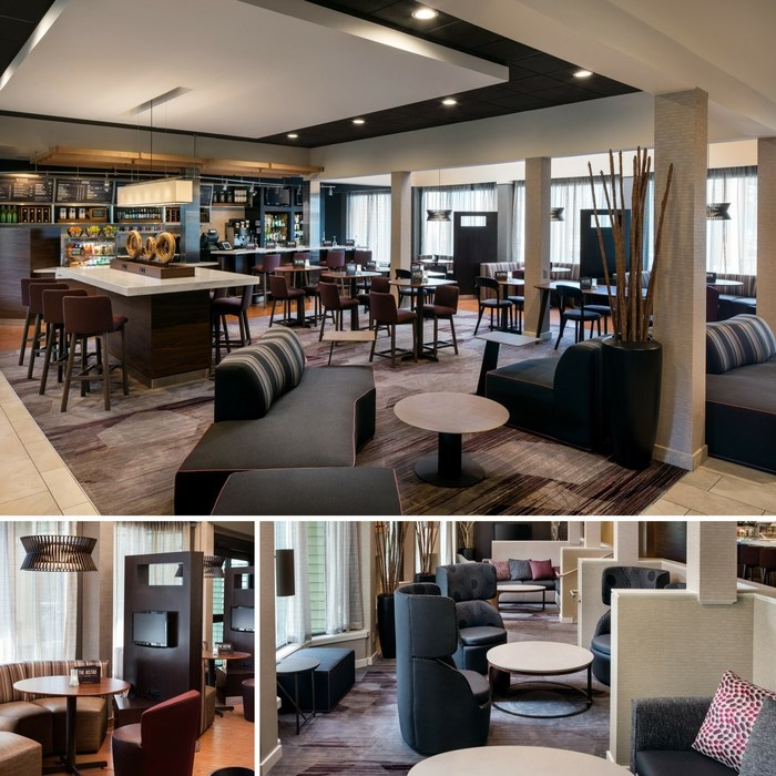 Lobby, Bistro Renovations Enhance Stay at Courtyard San Francisco Larkspur Landing/Marin County
