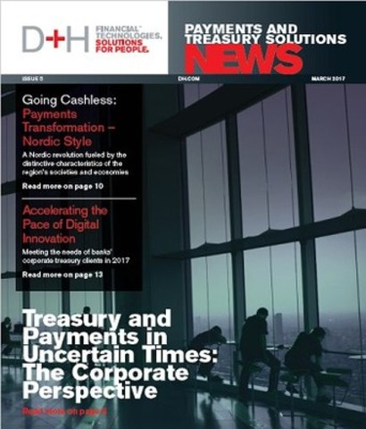 D+H Payments and Treasury Solutions News, March 2017 (CNW Group/DH Corporation)