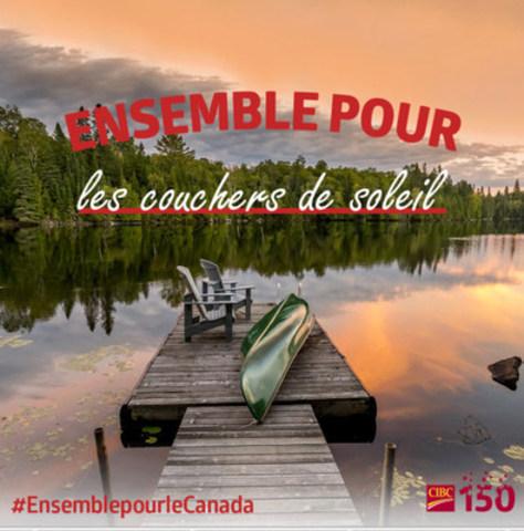 La Banque CIBC demande aux Canadiens ce qu''ils font #EnsemblepourleCanada (Groupe CNW/Banque CIBC)