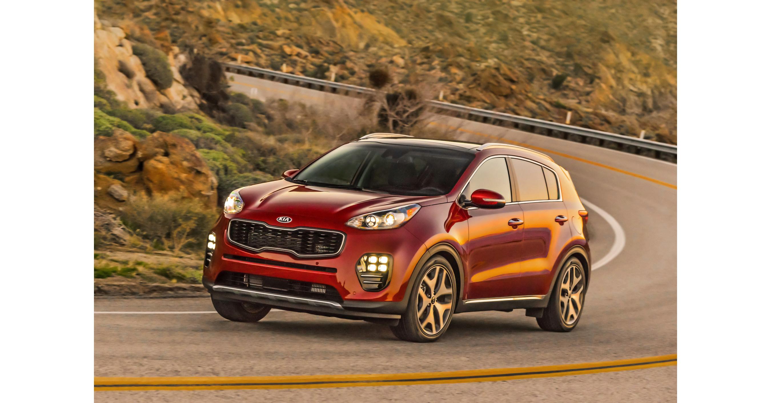 Kia sportage named a 2017 must test drive vehicle by for Kia motors usa com
