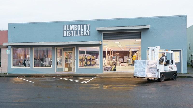 The Humboldt Distillery facility