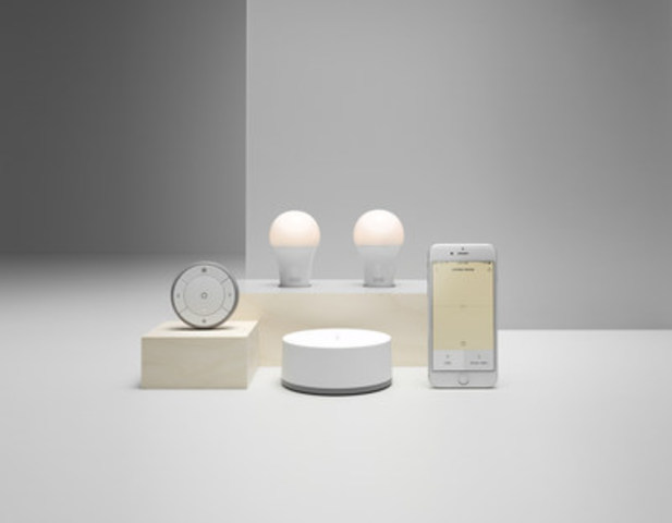 IKEA Canada launches an app that allows customers to personalize lighting (CNW Group/IKEA Canada)