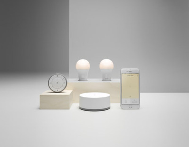 IKEA Canada lance une application qui permet de personnaliser l'éclairage (Groupe CNW/IKEA Canada)