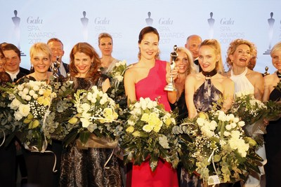 Ana Ivanovic and winners during GALA Spa Awards 2017, Baden-Baden, Germany, 25. March 2017. (PRNewsFoto/Gruner+Jahr, GALA)