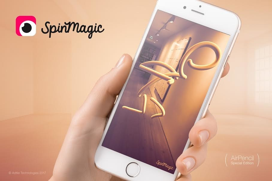SpinMagic Lets People Draw in Playful AR Using Only an iPhone