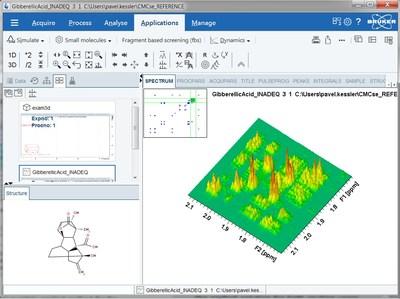 Bruker TopSpin4 NMR software