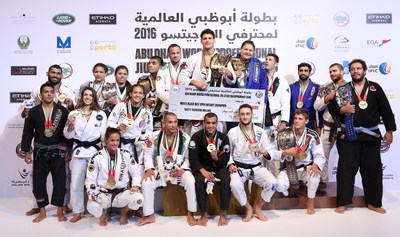 The world champions of the Abu Dhabi World Jiu- Jitsu Championship 2016 (PRNewsFoto/Abu Dhabi World Professional Jiu)