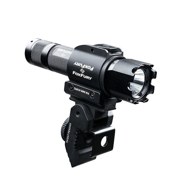 The FoxFury Taker B10 is the most adaptive shield light for top & side mounted shield use.