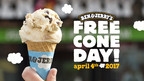 Ben & Jerry's Celebrates Its Fans With Free Cone Day, April 4
