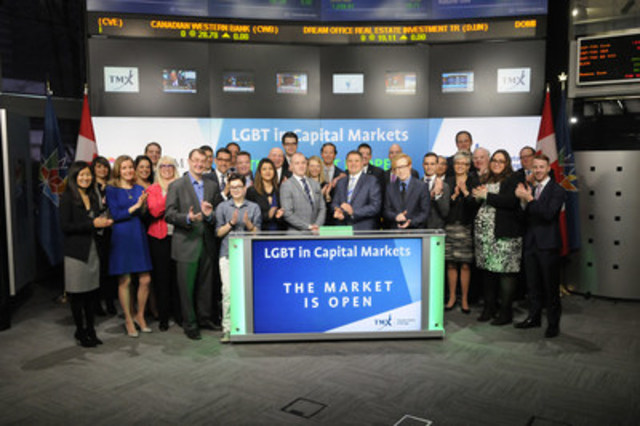 CNW | LGBT in Capital Markets Open the Market