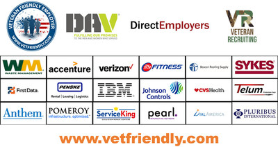 VetFriendly Jobs Initiative to Hire 100,000 Veterans by 2020