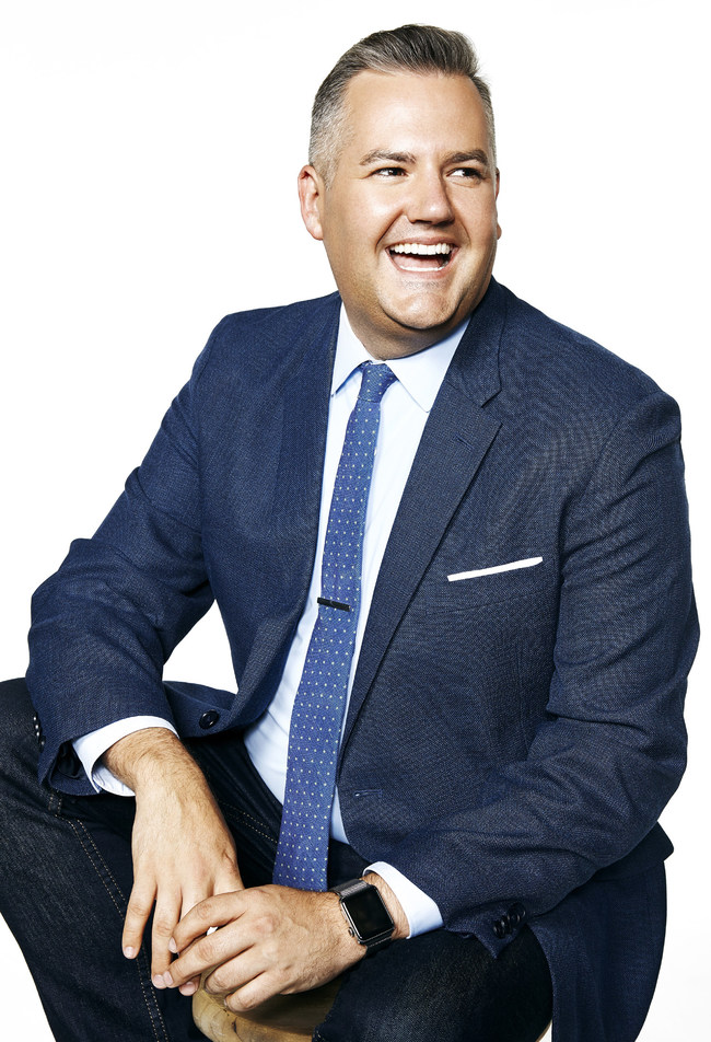 Ross Mathews will serve as Miami Beach Pride Celebrity Grand Marshal. Photo by Ricky Middlesworth