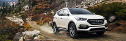 The 2017 Hyundai Santa Fe Sport is among the models covered in detail on the Courtesy Hyundai website.