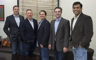 SproutLoud's executive leadership team includes (from left) David Spinola, Chief Financial Officer; Gary Ritkes, President; Dave Kinsella, Chief Operating Officer; Jared Shusterman, Chief Executive Officer; and Anjan Upadhya, Chief Technology Officer.