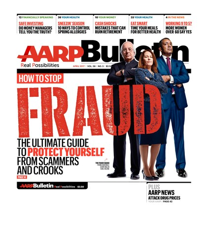 AARP The Bulletin April Issue Cover