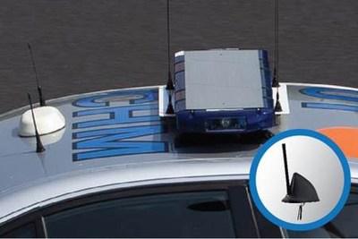 One (1) Laird Phantom Fin(TM) Antenna Enables Multiple On-Board Technologies