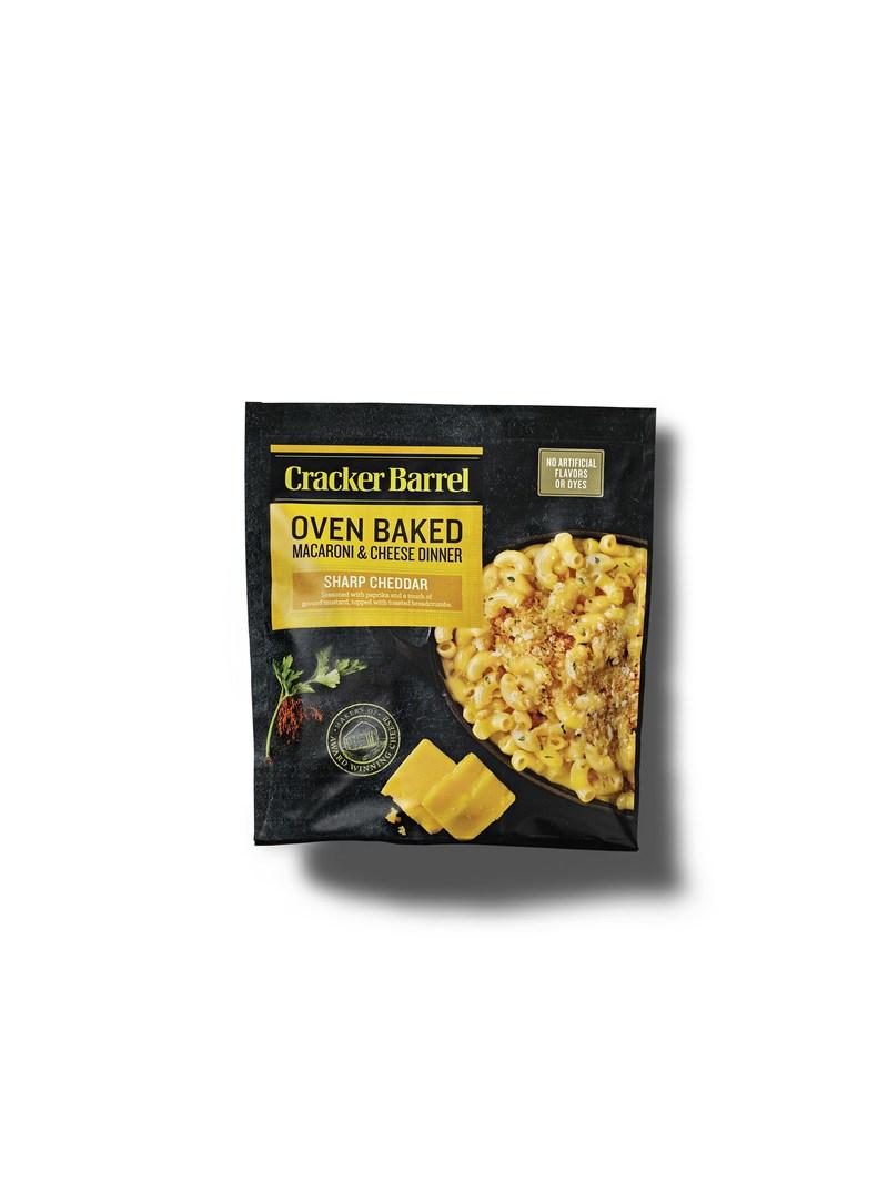 Cracker Barrel Sharp Cheddar Oven Baked Macaroni & Cheese