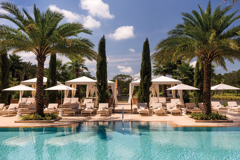 Paradise awaits at The Oasis adult-only pool.