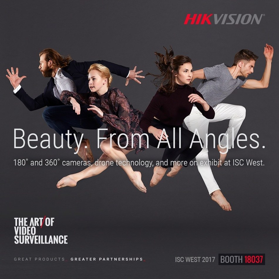 Hikvision and L.A. Contemporary Dance Company Illustrate the Art of Video Surveillance