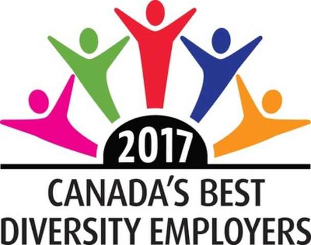 Canada's Best Diversity Employers 2017 (CNW Group/Mediacorp Canada Inc.)