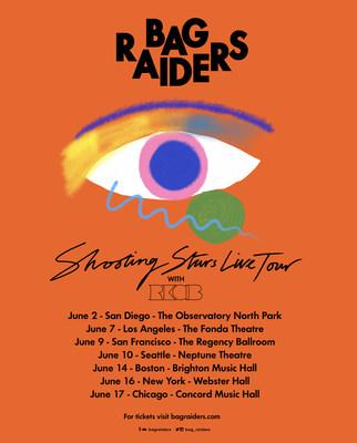 "Aussie Duo Bag Raiders Preps Tour As ""Shooting Stars"" Reenters Dance Charts"