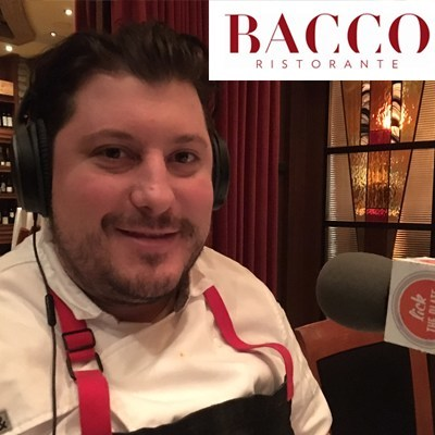 Executive Chef Anthony Lombardo from Bacco Ristorante joined host David Boylan on Lick the Plate as part of the 2-year anniversary month.