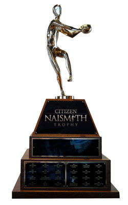 The Citizen Naismith Trophy will be awarded for the 49th time this year.