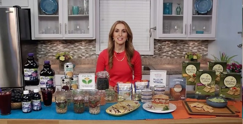 Discussed her National Nutrition Month tips!