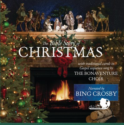 """The re-issue of """"The Bible Story of Christmas Narrated by Bing Crosby"""" 2017"""