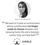 London-based Tech Startup Juggle.Jobs Launches Their Public Crowd Funding Campaign With Focus on Gender Equality