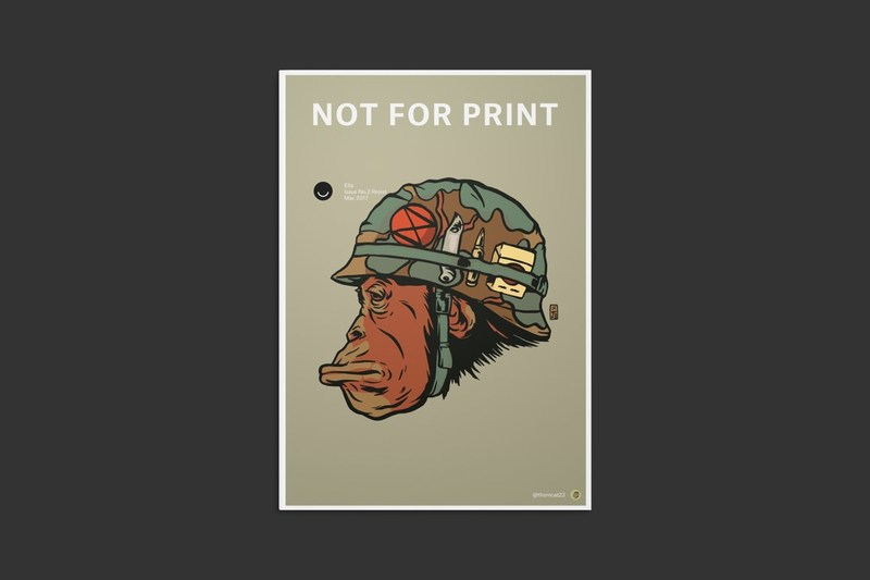 Submit your work to Not for Print 02 - Resist