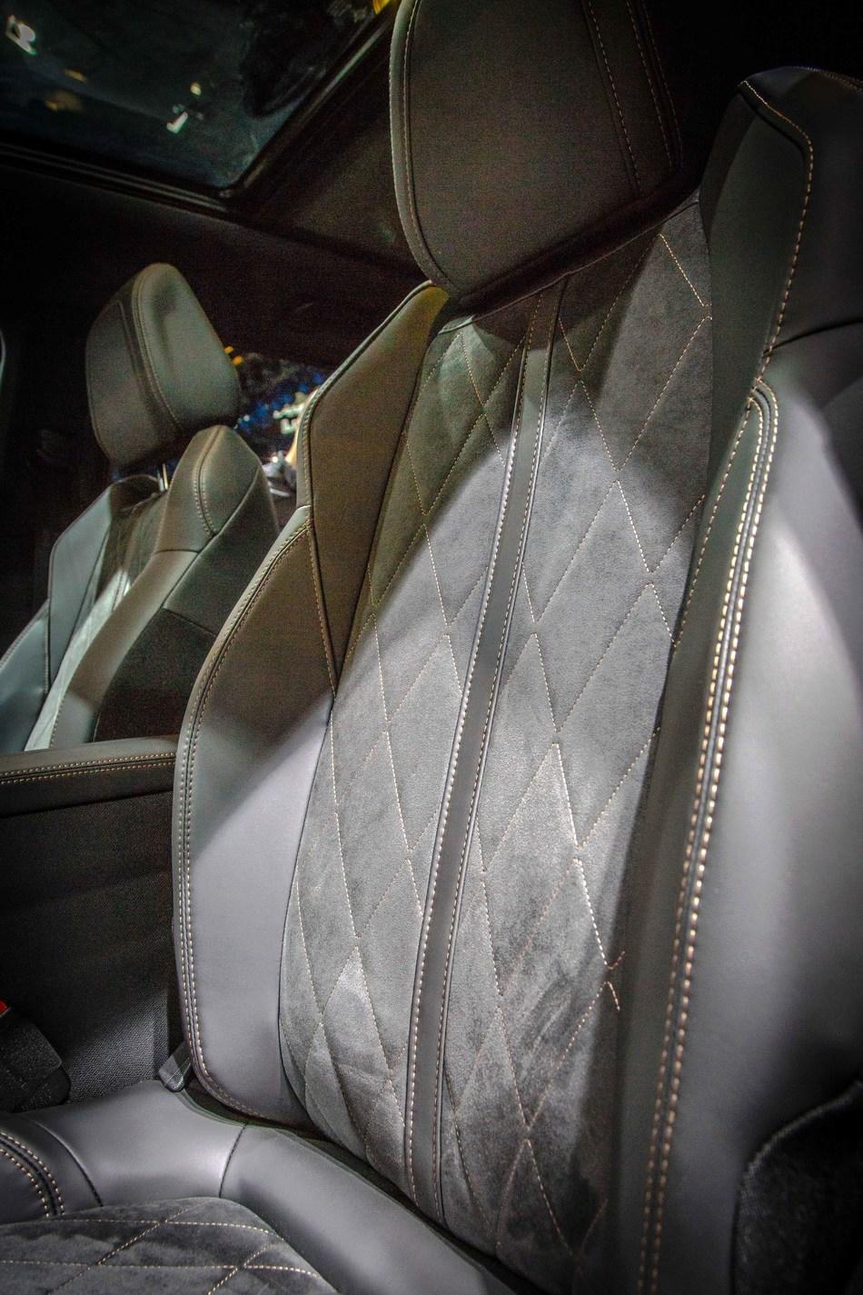 Seating in European Car of the Year winner Peugeot 3008 SUV.