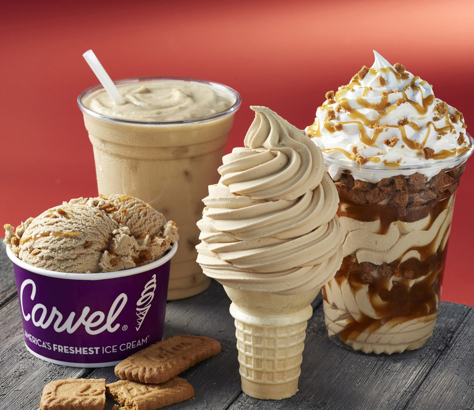 Carvel and Lotus Biscoff Partner to Debut Cookie Butter Soft Ice Cream