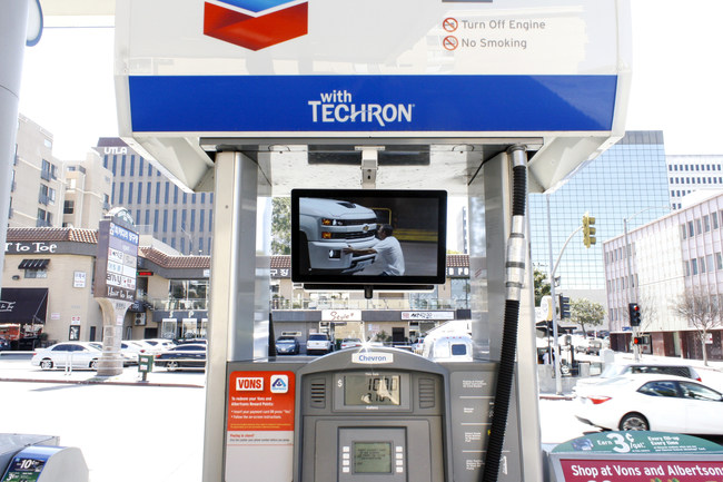 AllOver Media Digital Gas Pump Network