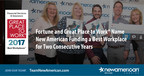 Fortune and Great Place to Work® Name New American Funding a Best Workplace for Two Consecutive Years