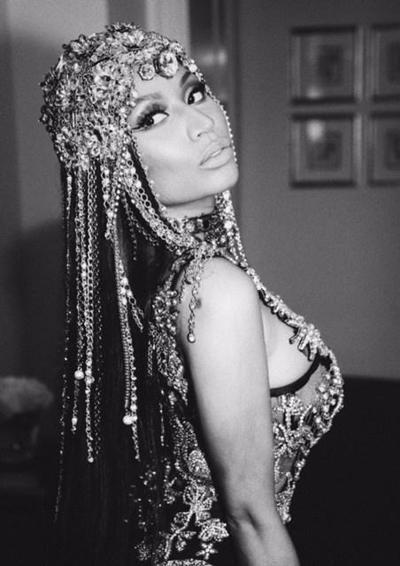 Nicki Minaj in Alexander McQueen