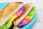 The Rainbow Grilled Cheese is perfect for the traditionalists among us, but with an adventurist twist.