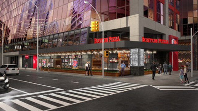 Boston Pizza Unveils its 'Restaurant Of The Future' (CNW Group/Boston Pizza International Inc.)