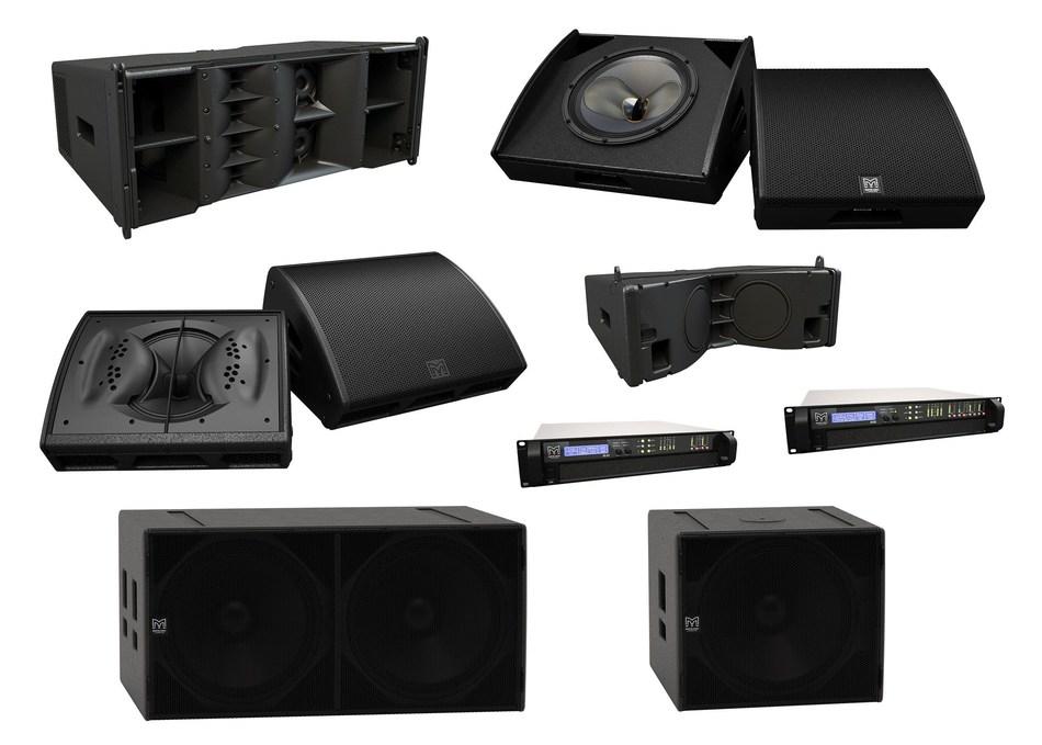 Martin Audio Announces 10 New Products (PRNewsFoto/Martin Audio Ltd)