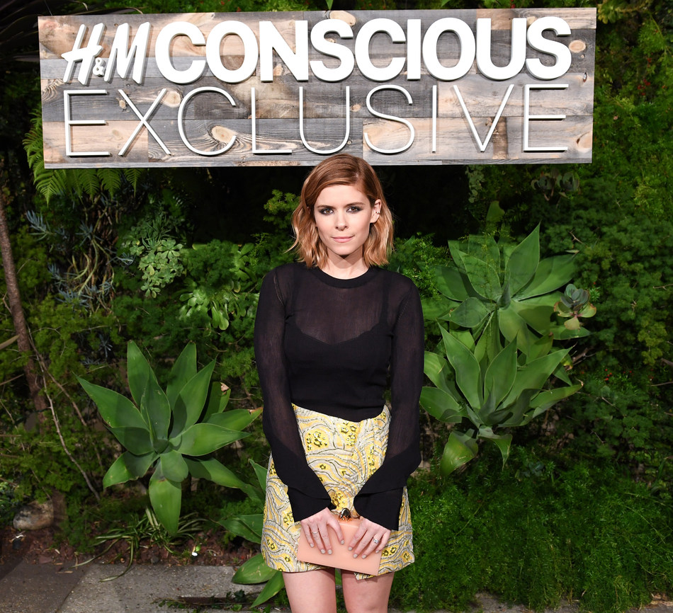 Kate Mara attends the H&M Conscious Exclusive dinner in L.A