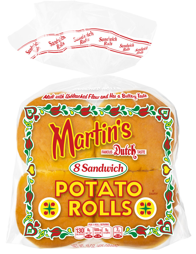 Martin's Famous Sandwich Potato Rolls are the number one branded hamburger rolls in America and are now being exported worldwide!