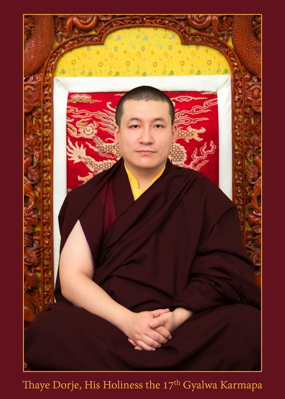 Both the 15th and 17th Karmapas have now married (PRNewsFoto/Private Office of 17th Karmapa)