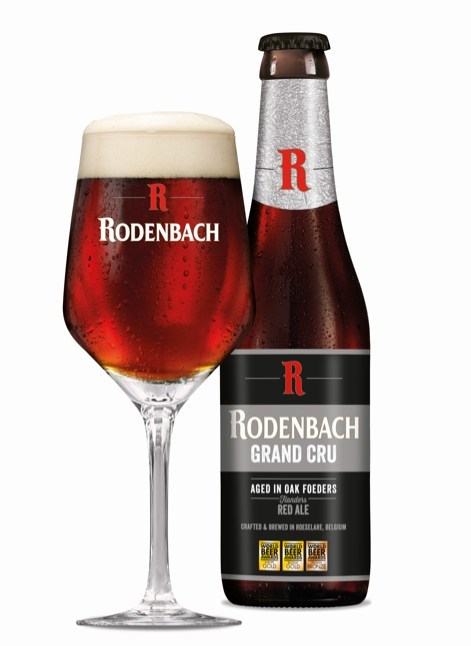 RODENBACH Grand Cru - new packaging and new Rodenbach glassware for optimal enjoyment