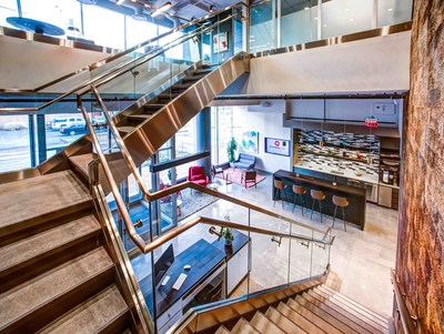 Serendipity Labs Coworking Bethesda, Maryland. The Nashville location will feature a similar design