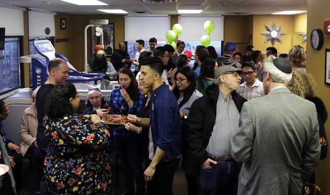 Dozens of guests attended the packed event in downtown Jersey City celebrating 10 years for Complete Physical Rehabilitation