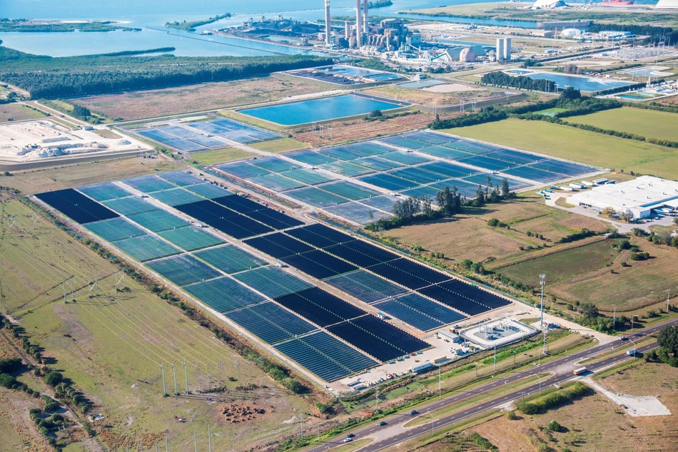 Tampa Electric's Big Bend Solar installation is the largest in west-central Florida.