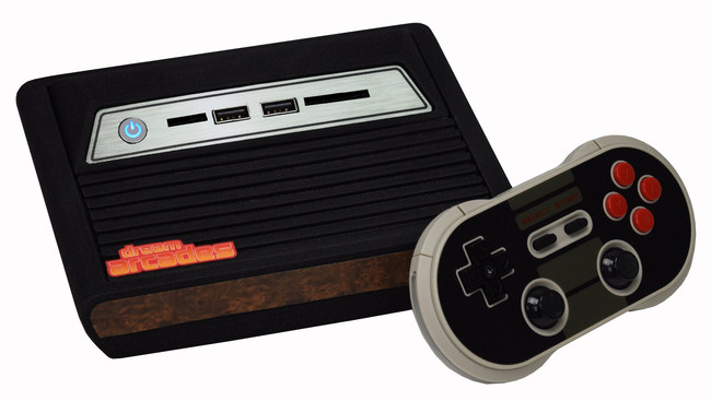 The new Dreamcade Replay game console plays games from over a Dozen different system, & is the newest product from Dream Arcades.