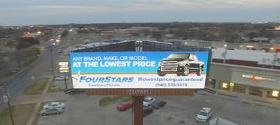 Fairway Air Series Billboard 10' x 36' - Wichita Falls, TX