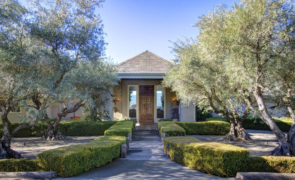 The Margrit Mondavi Estate in Napa Valley, California